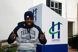 Jamal Edwards at Havering College of Further and Higher Education
