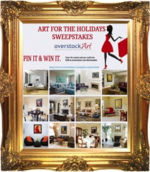 overstockArt.com Art for the Holidays Pin It to Win It Sweepstakes