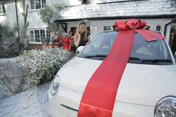 Still image form the Stoneacre Christmas TV campaign