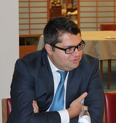 One of the main speakers at the debate on NATO and Azerbaijani relations