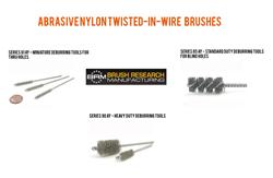 Nylon Abrasive Tube Brushes from BRM