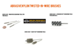 BRM Announces Twisted-in-Wire Nylon Abrasive Brushes (Tube Brushes)...