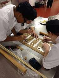 Students Creating Gingerbread Replica of Austin's Iconic Driskill Hotel to be Unveiled Dec. 4.