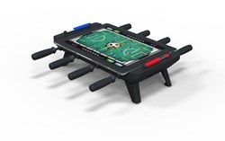 New Potato Technologies Updates Classic Match Foosball  (TM) Table Game, the Ultimate Multiplayer Accessory for Bluetooth Smart enabled iPads.