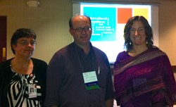 Miller, Longwell and Rooney at the NAFSA conference