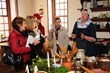 Pottsgrove Manor, Pottstown, Pa., recreates the Tudor tradition of Twelfth Night.