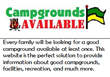 Campgrounds Available Logo
