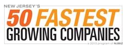 50 Fastest Growing Companies in 2013 by NJBIZ