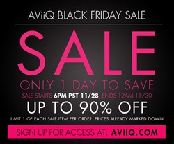 AViiQ Black Friday 2013 Private Sale