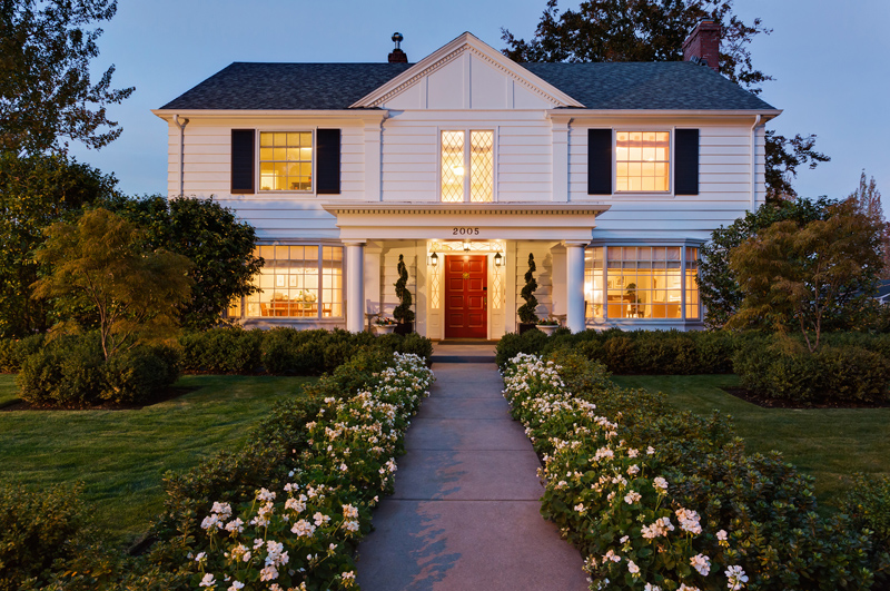 colonial northwest pacific revival homes styles remodel door portland remodeling architecture front exterior west paint remodels seattle timeless hills oregon