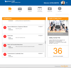 EHS employee portal