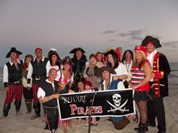 Pirate themed party at Cheryl Sumner family reunion