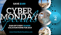 Seaside Vacations 2013 Cyber Monday Outer Banks