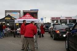 Toyota of Killeen Turkeys for the Troops
