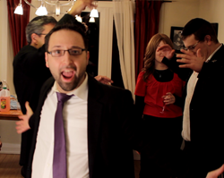 This Chanuka Rock video is spilling all over the place!