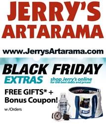 Black Friday Online Sale at Jerry's Artarama