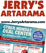 Jerry's Artarama Stocks Up Online for Cyber Monday Sale