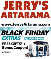 Black Friday Online Sale at Jerry's Artarama