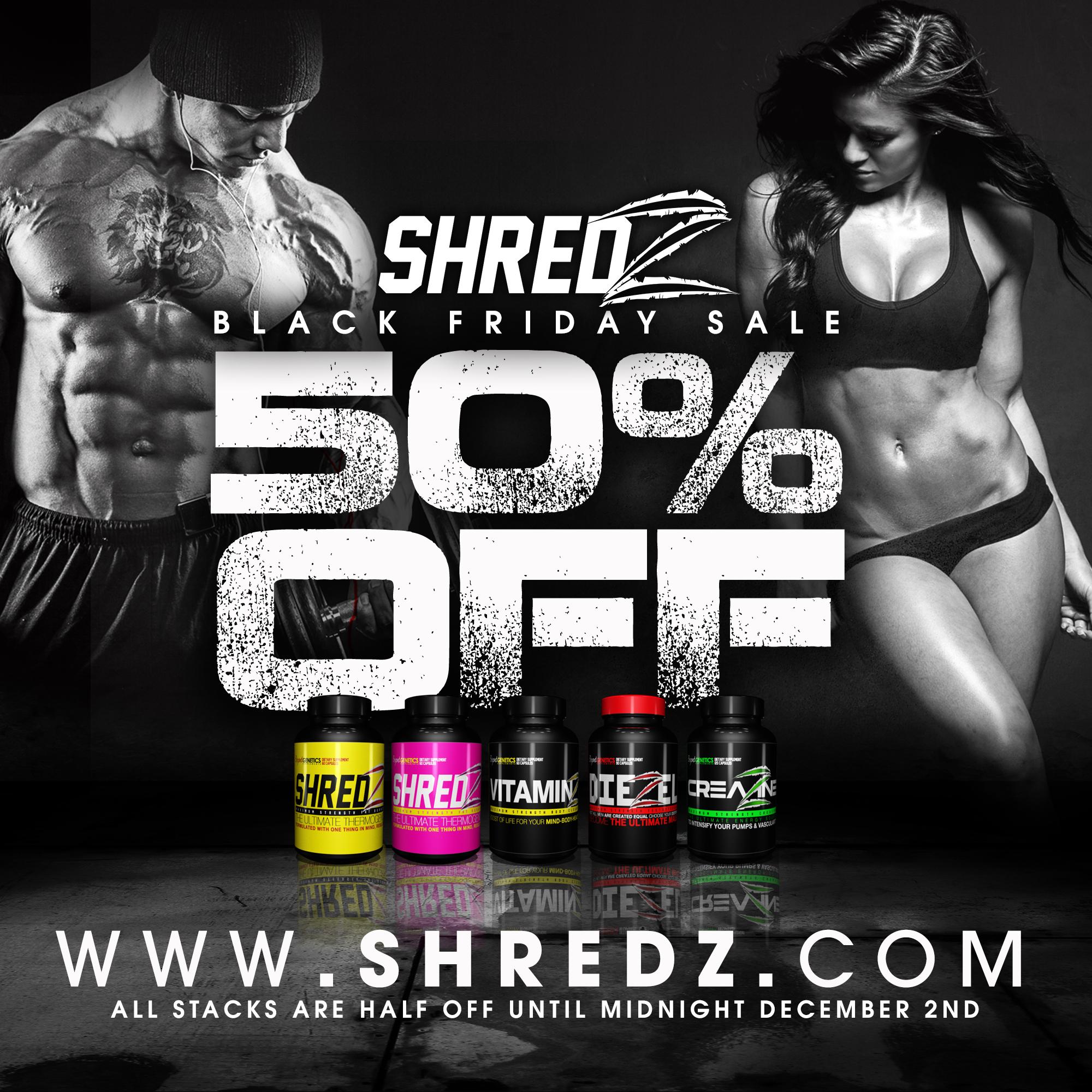 Black friday supplement sales