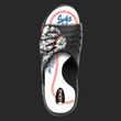 baseball slide, baseball flip flop, baseball shoes, baseball slippers, jukzshoes, wearyoursport