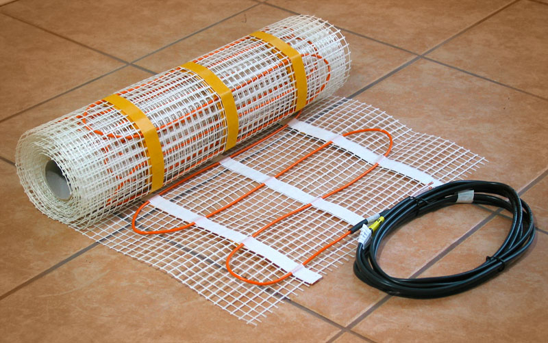 InfraFloor Mats For Tile FloorsInfraFloor Mats Simplify Installation For  Heating Tile Floors ...