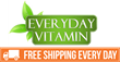New Free Shipping Policy at Everyday Vitamin