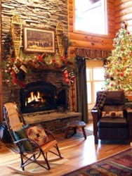 Hearthside Cabin Rentals is proud to invite guests to spend the holidays with them inside one of their holiday decorated Pigeon Forge cabins.