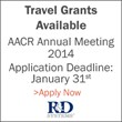 AACR Annual Meeting 2014 Travel Grants Available