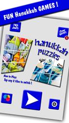hanukkah puzzles fun kids slide game iPhone