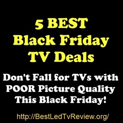 5 Best Black Friday TV Deals