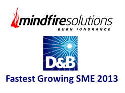 Mindfire Solutions wins D&B Fastest Growing SME 2013