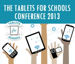 Tablets for Schools Conference 2013