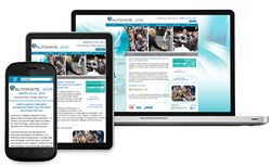 AIMG's Responsive Web Development Solution for Automate 2015, www.aimg.com 1-704-321-1234.