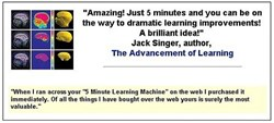 5 minute learning machine  program