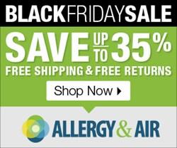 AllergyandAir.com Black Friday Sale