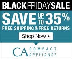 CompactAppliance.com Black Friday Sale