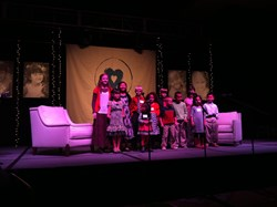 Children singing at Lifeline Event sponsored by Gabby