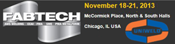 Uniweld attends Fabtech 2013 in Chicago
