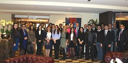 Azerbaijani Youths at the TEAS-facilitated roundtable