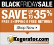 Take Advantage of Savings of Up to 35% During the Kegerator.com Black...