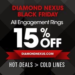 diamond nexus, sale, black friday, jewelry, affordable engagement rings,
