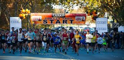 Turkey Trot Start 2012