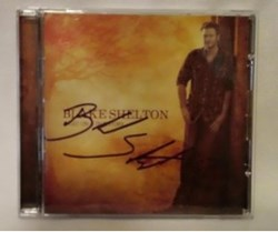 Blake Shelton autographed this CD for the eBay online auction to benefit The Salvation Army Nashville Area Command Angel Tree program