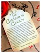 Book blurb for The Christmas Cowboy by Shanna Hatfield.