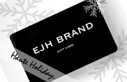 EJH Brand Gift Card for Holiday