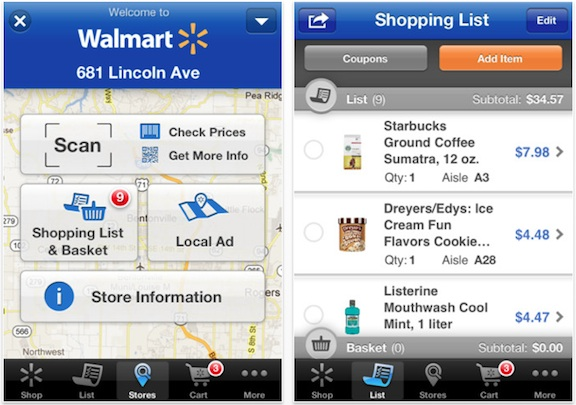 With the Walmart app, customers can use their smartphones to shop at the imsese.cf link a credit card or bank account to the app. Then, at checkout, they can just scan the phone to pay rather than needing to have their wallets handy.