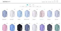 Dress shirt styles selection at ICUSTOMSHIRTS.com