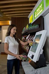 HUMAN Healthy Markets allow employees to purchase healthful meals right from their office space using credit cards, loyalty or employee cards and even their fingerprints