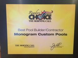 Pool builder award