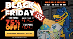 Hostgator Black Friday & Cyber monday 2013 Promotion